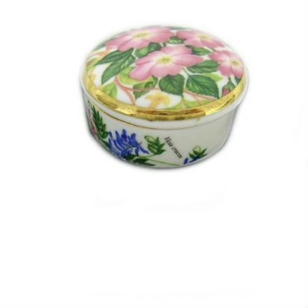 Trinket Box, Fine Bone China